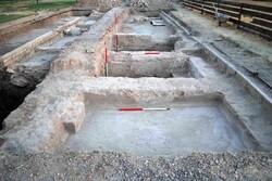 بقایای حمام صفوی در قزوین کشف شد