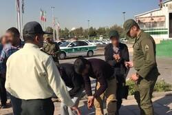 بازداشت ۵ شرور در منطقه دولتخواه