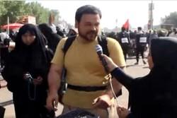 تجلی عشق و شور حسینی در مراسم پیاده روی اربعین