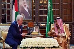 رایزنی محمود عباس با پادشاه عربستان در ریاض