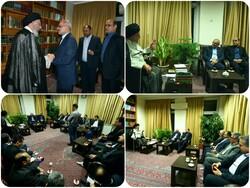 وزیر آموزش و پرورش با نماینده ولی فقیه در گلستان دیدار کرد