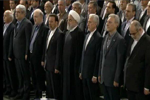 مراسم آغاز سال تحصیلی در دانشگاه تهران آغاز شد