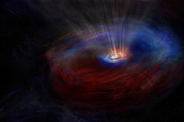 ابرهای عجیب یک کهکشان یک راز کیهانی را فاش کرد
