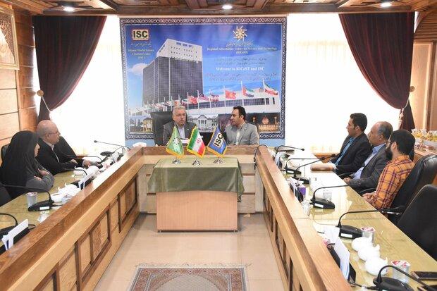 گسترش همکاری با مرکز منطقه ای اطلاع رسانی علوم و فناوری