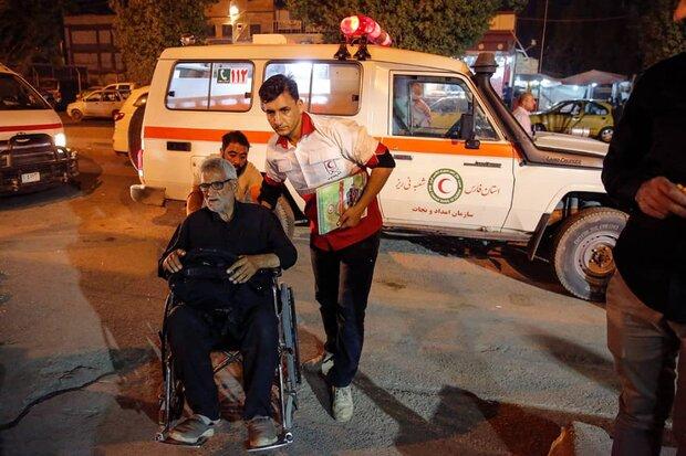 انجام ۵۰ هزار ویزیت رایگان زوار اربعین در نجف