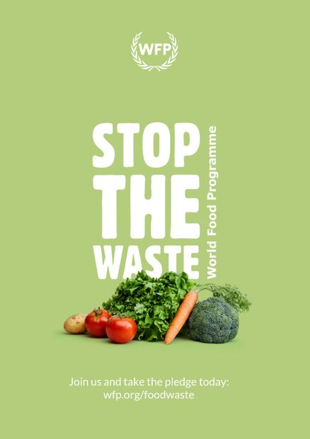 WFP launches a global movement to help fight food waste