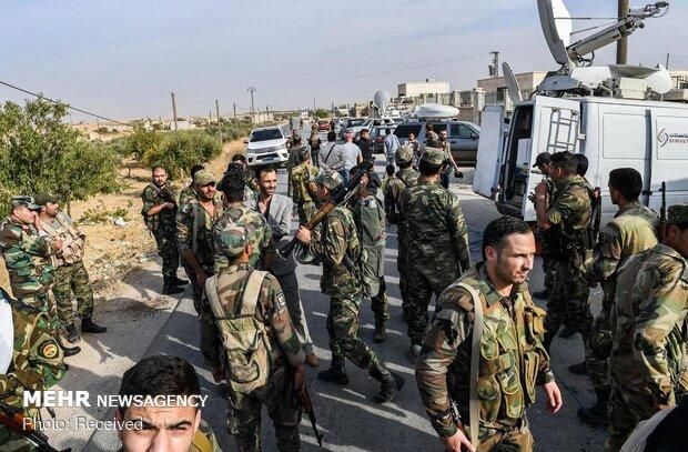 دخول الجيش السوري في مدينة منبج