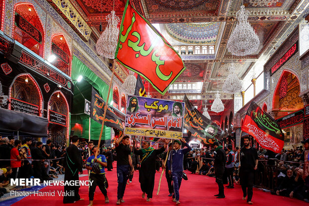 Karbala on eve of Arbaeen ceremonies at a glance