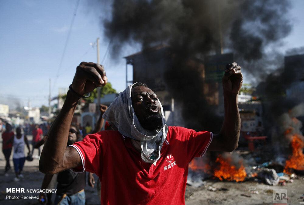 بشێوی لە هایتی