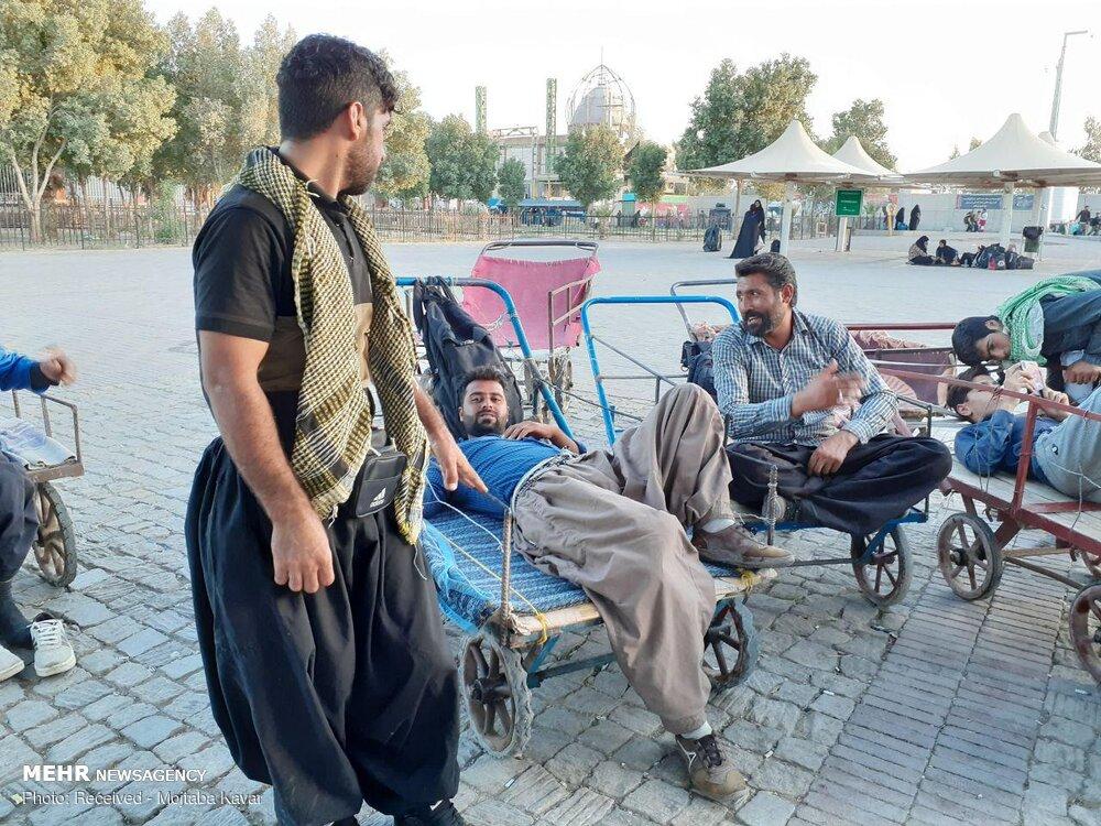 چرخی ها در مرز مهران
