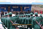 همخوانی سربازهای دانشگاه امام حسین (ع) در حضور رهبر معظم انقلاب