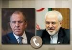 ایرانی وزیر خارجہ کی روسی وزیر خارجہ سے ٹیلیفون پر گفتگو