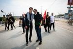 حسینی اربعین کے پیدل مارچ میں پہلی مرتبہ شرکت کرنے والے زائرین