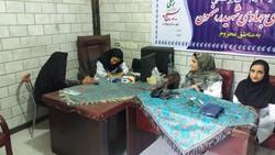 اردوی جهادی ویزیت رایگان در آستان شاهزاده محمد(ع) نهاوند اجرا شد