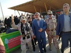بازدید وزیر کشور از پایانه مسافربری شلمچه