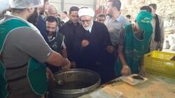 تولیت آستان قدس رضوی از موکب های مرز مهران بازدید کرد