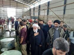 بازدید تولیت آستان قدس رضوی از موکب های مرز مهران