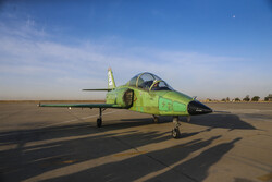 Unveiling homegrown Yasin training jet