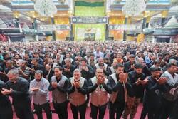 نماز ظهر در حرم حضرت عباس علیه السلام