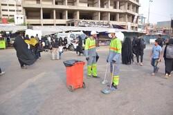 جمع آوری روزانه ١٠٠ تن زباله در نجف