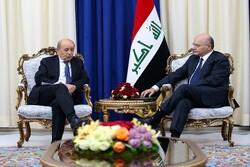 تأکید «برهم صالح» بار دیگر بر لزوم توقف حمله ترکیه به شمال سوریه