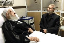 ایرانی اسپیکر نے آیت اللہ مکارم شیرازی کی عیادت کی