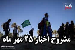 از هلاکت عامل انتحاری تا بازگشت ۲میلیون زائر اربعین