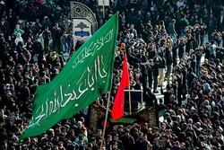 تجمع بزرگ عاشورائیان در عمود ۷۸۰ با مداحی سید مهدی میرداماد