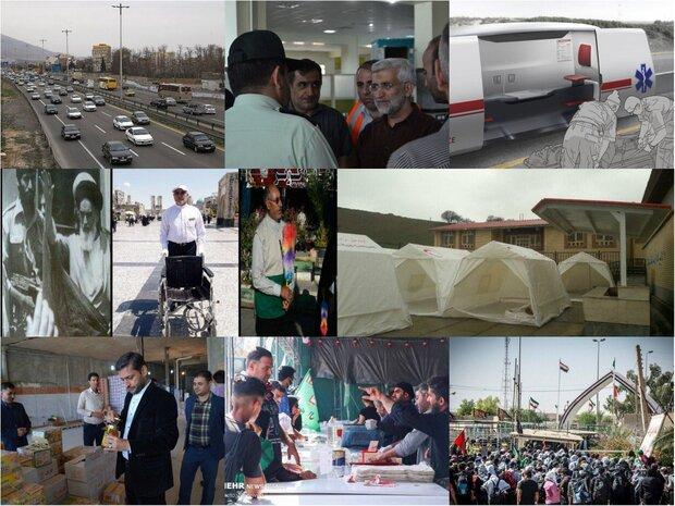 حضور نماینده رهبری در شورای عالی امنیت ملی در مرز خسروی