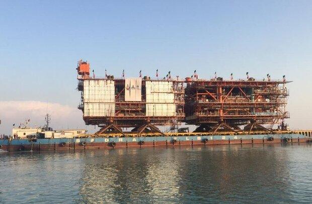 Two South Pars platforms loaded: POGC