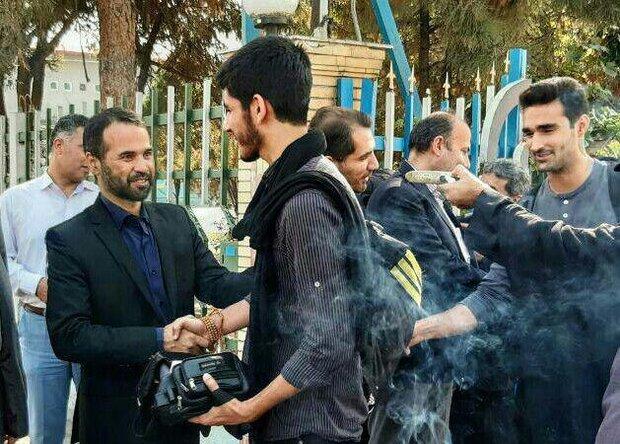 اعزام منظم دانشجویان به کربلا توسط ستاد اربعین دانشگاهیان گلستان