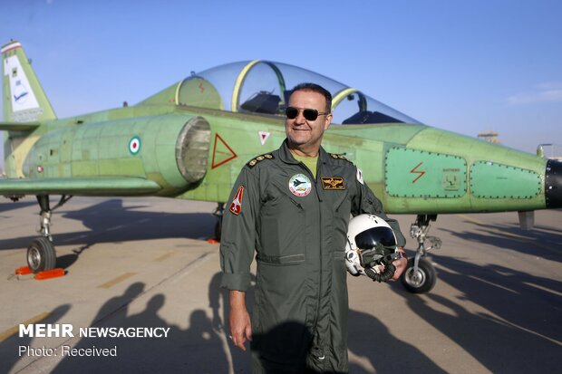 Homemade advanced training fighter jet 'Yasin' unveiled