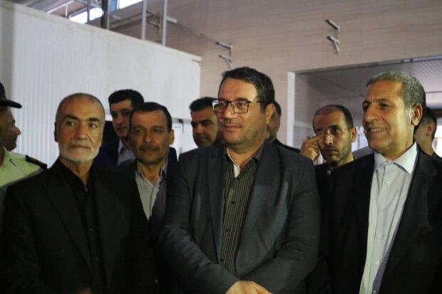 وزیر صمت از طرحهای اشتغالزایی در شهرستان گناوه بازدید کرد