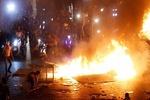 تداوم اعتراضات در لبنان و زخمی شدن ۴۰ نیروی امنیتی/ واکنش سعد حریری