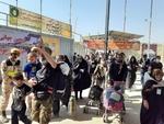 وضعیت پل زائر تا پایانه مرزی در مهران