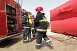 تجهیز مأموران آتش نشانی اراک به لباس مدرن آتش نشانی