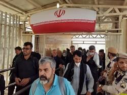 ورود ۲۲۰ هزار زائر طی ۲۴ ساعت گذشته از مرز مهران به داخل کشور