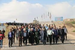 همایش پیاده روی خانوادگی «هشجین» با مشارکت۱۲۰۰ نفر برگزار شد