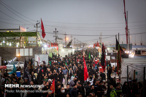 5.6 مليون زائر عبروا من منفذ حدودي ايراني مع العراق