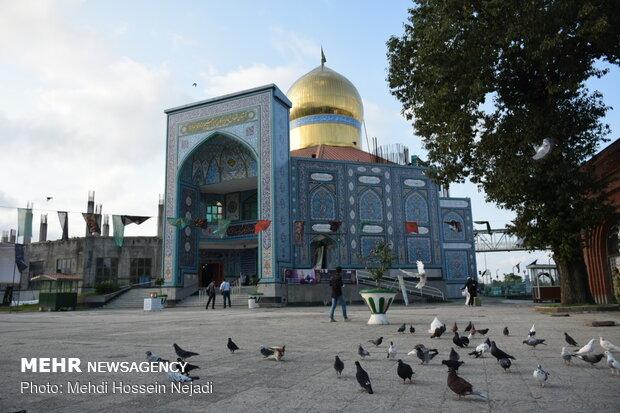 امامزادگان ابراهیم و قاسم (ع) شهرستان مرزی آستارا