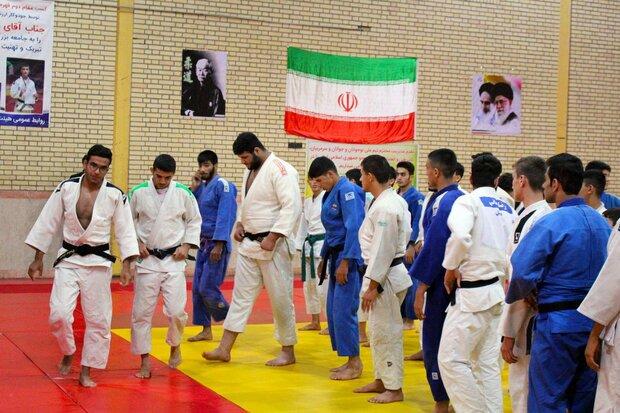 تمرین مشترک جودوکاران ملی پوش با تیم جمهوری آذربایجان در اردبیل