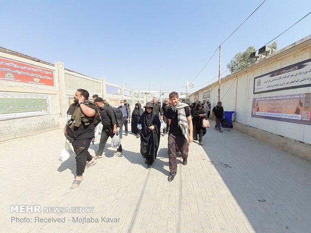 تردد بیش از ۳ میلیون و ۵۷۴ هزار زائر اربعین از مرز مهران