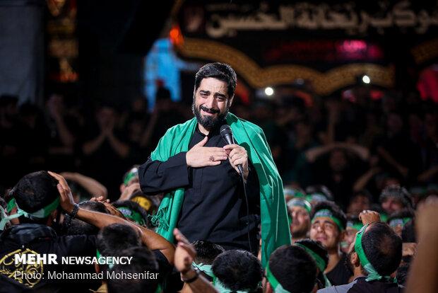 موکب ریحانه الحسین در مسیر نجف - کربلا