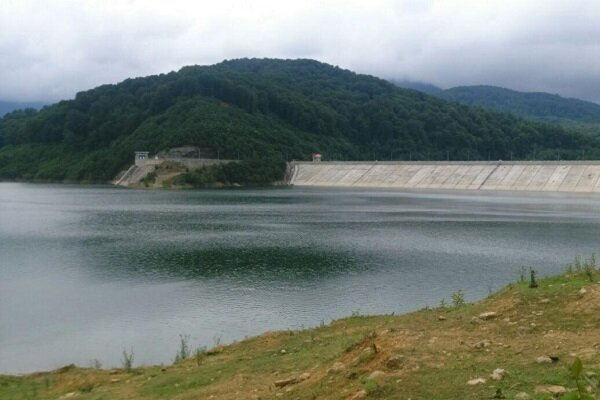 افزایش ۱.۵ برابری ذخیره آب سد آیت الله بهجت شهر بیجار