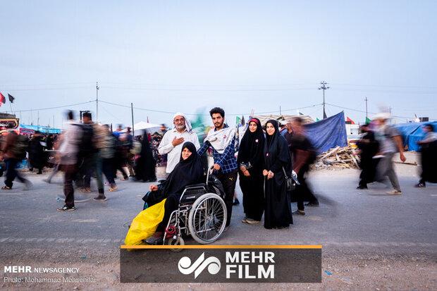 بازگشت زوار اربعین به کشور از طریق مرز مهران
