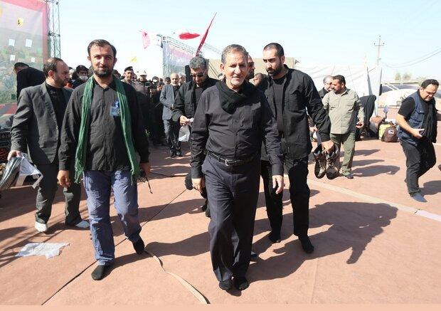 VP Jahangiri to leave for Iraqi holy city of Najaf tomorrow