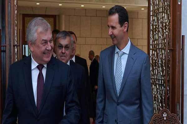 روسیه در تماس دائم با بشاراسد درباره عملیات نظامی ترکیه است