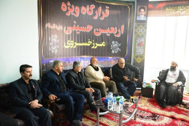 قدردانی استاندار کرمانشاه از حشدالشعبی برای تامین امنیت زائران