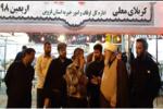 حضور نماینده ولی فقیه و امام جمعه قزوین در پیاده روی اربعین
