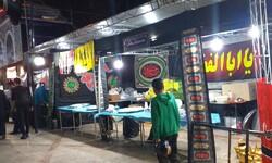 فعالیت ایستگاه های صلواتی پذیرایی از زائران اربعین در همدان